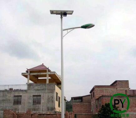 太阳能路灯安装效果