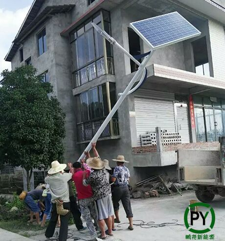 满城5米太阳能路灯竖杆