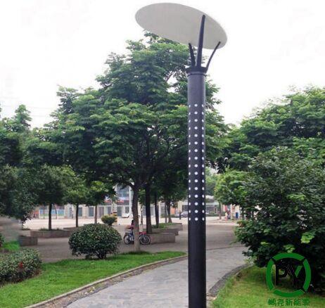 这种太阳能灯让公园美翻了