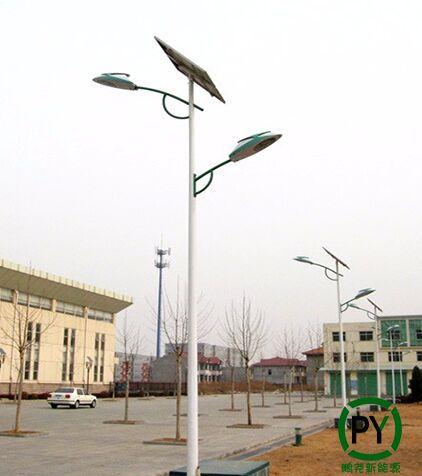 双臂led太阳能路灯