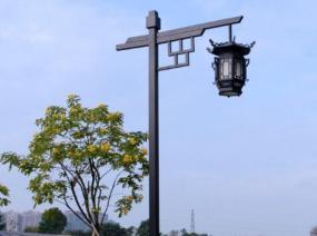 中式庭院灯