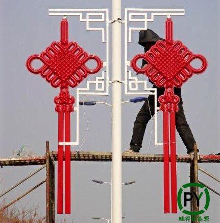 北京led中国结安装