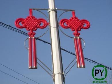 北京led中国结安装效果
