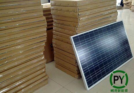 太阳能路灯电池板包装