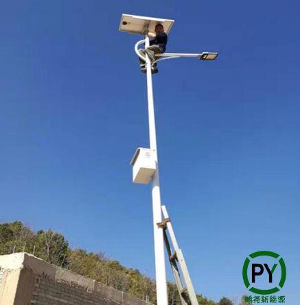 传统路灯改装太阳能路灯