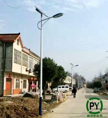 新农村建设太阳能路灯