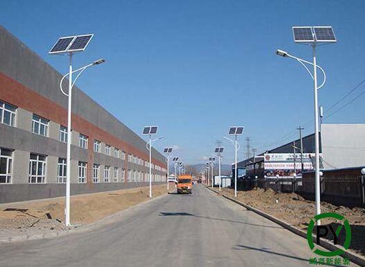 厂区太阳能路灯