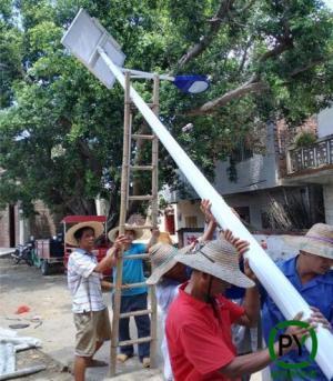 秦皇岛太阳能路灯安装原来这么多讲究
