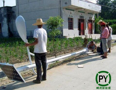 运城太阳能路灯安装
