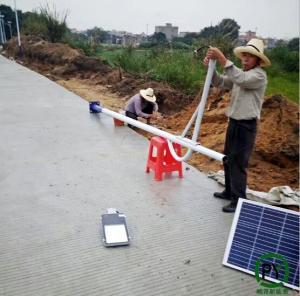 北京新农村建设太阳能路灯安装调试要做好