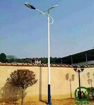 衡水太阳能路灯农村6米金秋十月安装忙