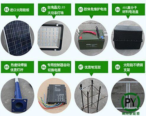 雄安新区太阳能路灯安装