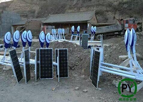 家用太阳能灯安装