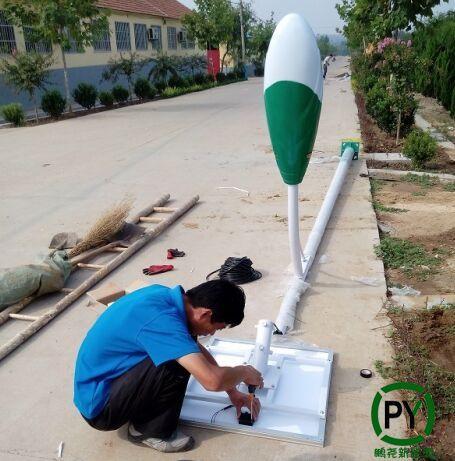 农村装路灯太阳能的怎么调试
